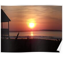 Sunrise - Old Orchard Beach Poster