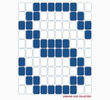 Skip: True Blue 100 Dots  by SneakerSkip