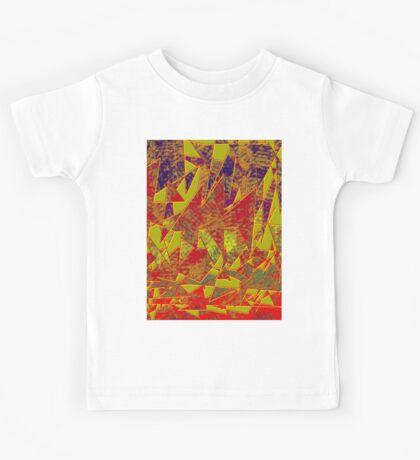 0134 Abstract Thought Kids Tee