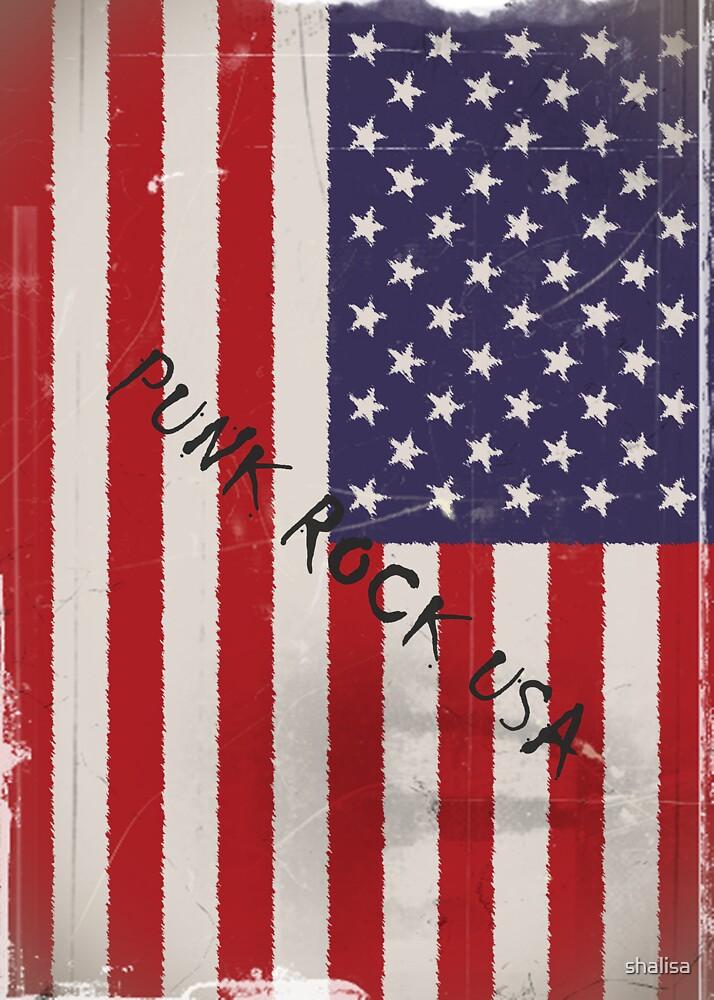 Punk Rock USA by shalisa