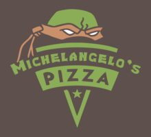Michelangelo's Pizza Kids Clothes