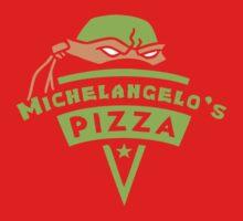 Michelangelo's Pizza One Piece - Short Sleeve