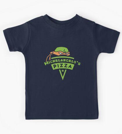 Michelangelo's Pizza Kids Tee