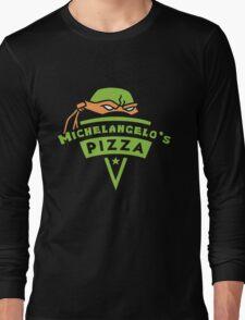 Michelangelo's Pizza Long Sleeve T-Shirt