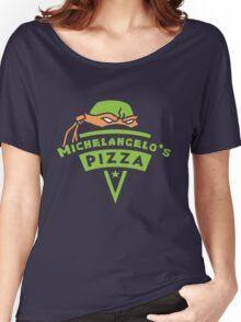 Michelangelo's Pizza Women's Relaxed Fit T-Shirt