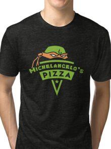 Michelangelo's Pizza Tri-blend T-Shirt