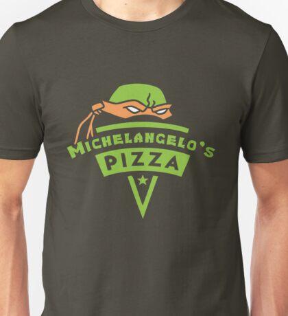 Michelangelo's Pizza Unisex T-Shirt