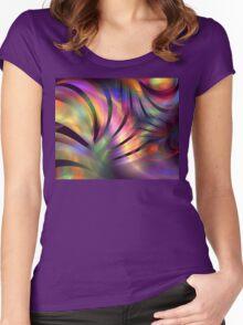 Aurora Borealis Women's Fitted Scoop T-Shirt