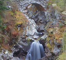 Lower falls at Bruar by cagneyspal