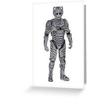 New Cyberman. Greeting Card
