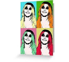 Silkscreen Taylor Greeting Card