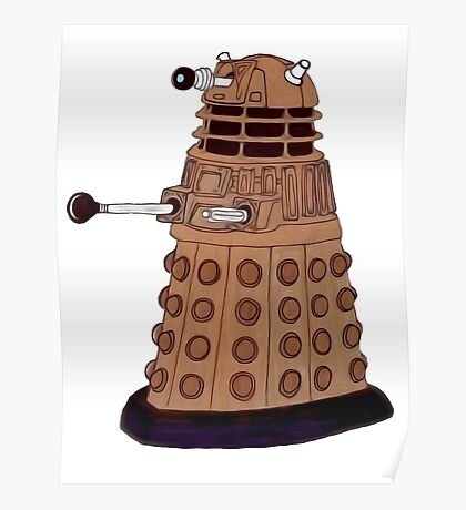 Bronze Dalek. Poster