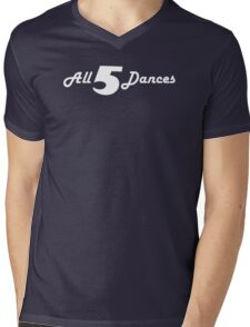 All 5 Dances Mens V-Neck T-Shirt