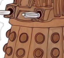 Bronze Dalek. Sticker