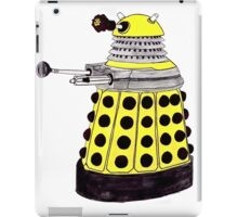 New Paradigm Dalek--Yellow, Watercolour. iPad Case/Skin