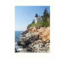 Bass Harbor Head Light, Acadia National Park, Maine Art Print