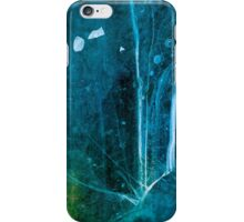 Cosmic Winter - Ice Abstract iPhone Case/Skin