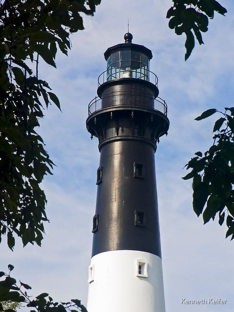 Hunting Island Lighthouse, South Carolina by Kenneth Keifer