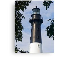 Hunting Island Lighthouse, South Carolina Canvas Print