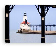 Michigan City East Pier Head Light, Indiana Canvas Print