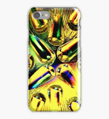 Yellow Teardrops iPhone Case/Skin