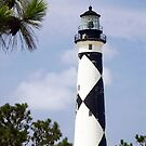 Cape Lookout Lighthouse, North Carolina by Kenneth Keifer