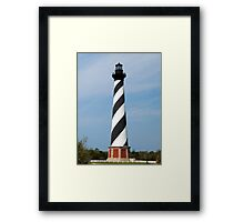 Cape Hatteras Lighthouse, Outer Banks, North Carolina Framed Print