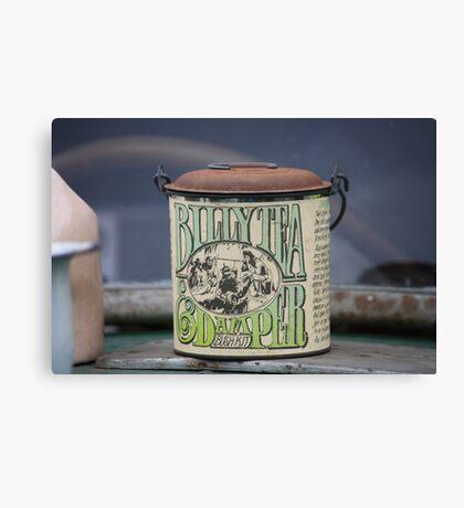 Billy Tea & Damper Bush Kit Canvas Print