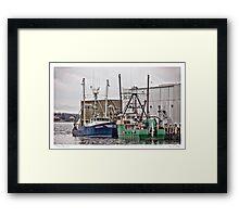 Gloucester Fishing Framed Print