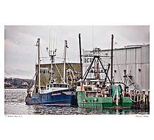 Gloucester Fishing Photographic Print