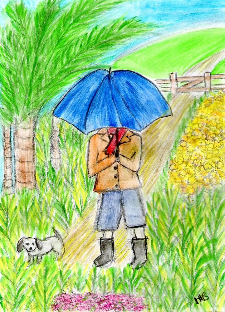 Umbrella Boy by Hbeth