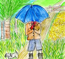Umbrella Boy by Hbeth