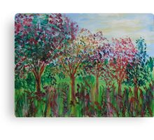 Fruit Trees Canvas Print