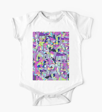 0978 Abstract Thought One Piece - Short Sleeve
