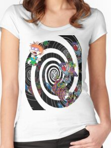 Chuckie's Nightmare!!! Women's Fitted Scoop T-Shirt
