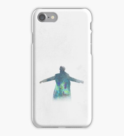Falling is just like flying. iPhone Case/Skin