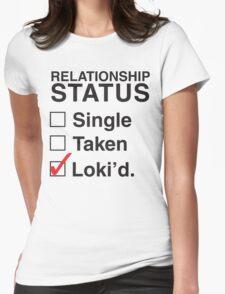 AVENGERS - SINGLE TAKEN LOKI'D Womens Fitted T-Shirt