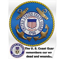 U. S. Coast Guard Remembers  Poster