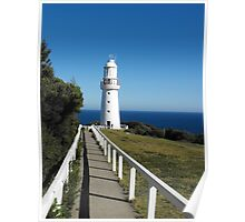 The Eye of the Needle. (Cape Otway Lighthouse) Poster