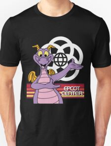Gray EPCOT Center Figment T-Shirt