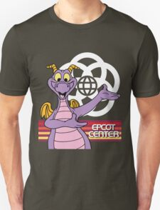 Gray EPCOT Center Figment T-Shirt