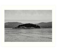 Pacific Northwest Islands Art Print