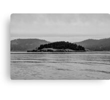 Pacific Northwest Islands Canvas Print