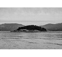 Pacific Northwest Islands Photographic Print