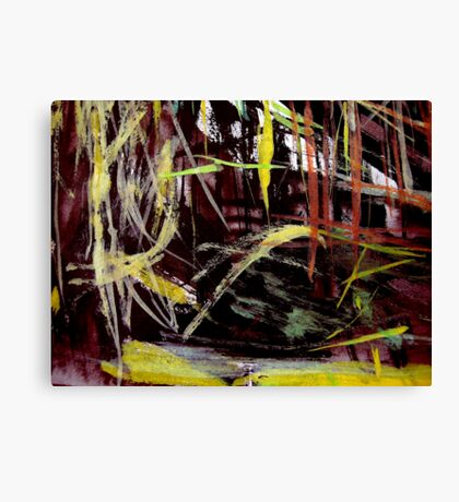 thick grove..... near the pass Canvas Print