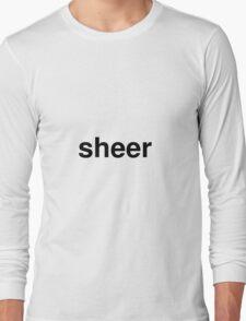 sheer Long Sleeve T-Shirt