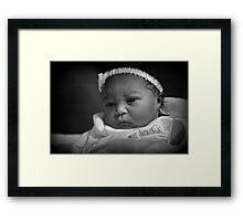 Baby Madison Framed Print