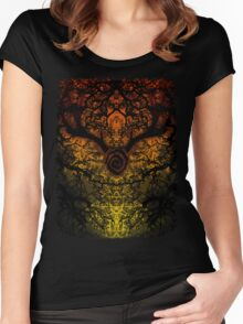 Journey to Carcosa  Women's Fitted Scoop T-Shirt