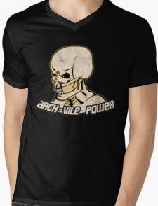 Arch-Vile Power Mens V-Neck T-Shirt