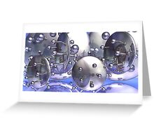 Chrome In The Sky Greeting Card
